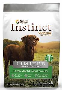 Instinct L.I.D dog food for great dane