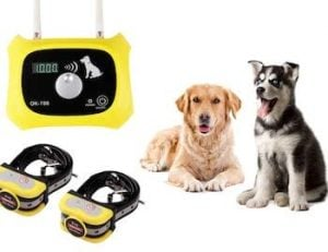 JustStart wireless dog fence system