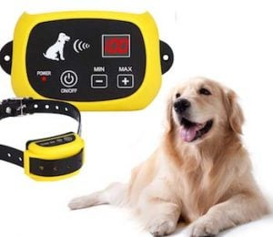 wireless electric dog fence system