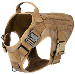 ICEFANG Tactical Dog Harness for pit bulls