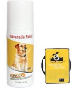 Downtown Citronella no bark collar