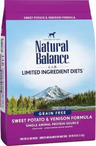 Natural Balance low sodium dog food