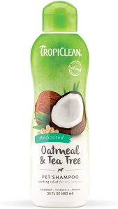 TropiClean Tea Tree & Oatmeal Dog Shampoo