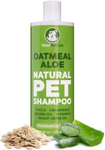Vital Pet Life Oatmeal & Aloe Natural Pet Shampoo